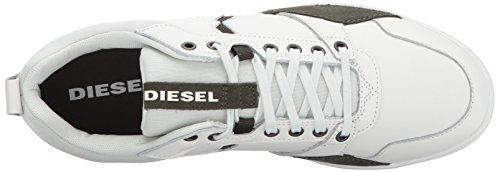 Diesel Uomo Happy Hour S-tage Sneaker Bianco Sporco / Asfalto