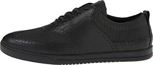 Clae Men's Powell Black Leather Nylon Canvas Sneaker 10 D (M)