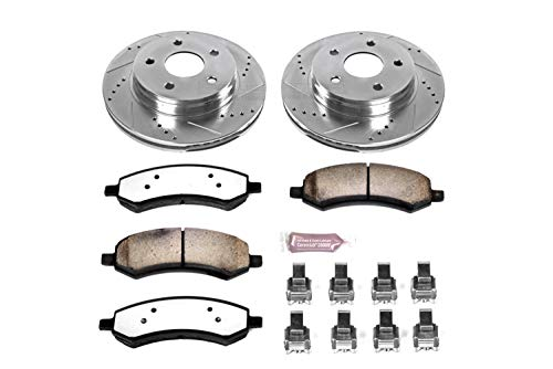 - Power Stop K2163-36 Front Z36 Truck and Tow Brake Kit