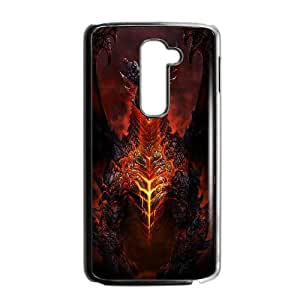 Deathwing World Of Warcraft Game LG G2 Cell Phone Case Black Customized Toy pxf005_9688363