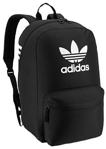 adidas Originals Unisex Big Logo Backpack, Black/White, ONE SIZE