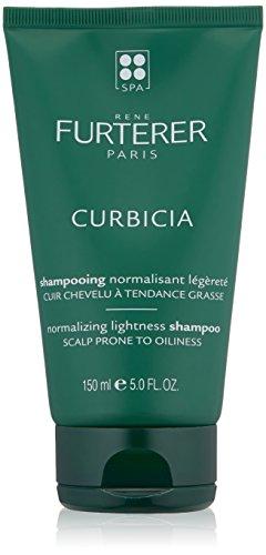 Rene Furterer CURBICIA Normalizing Lightness Shampoo, Oily-Prone Scalp, Sebum Control, 5 oz.