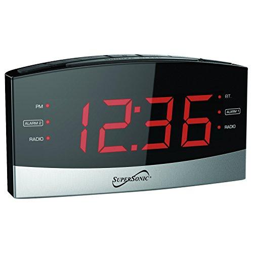 SuperSonic Digital Bluetooth AM/FM Radio Alarm Clock (Sonic Bluetooth)