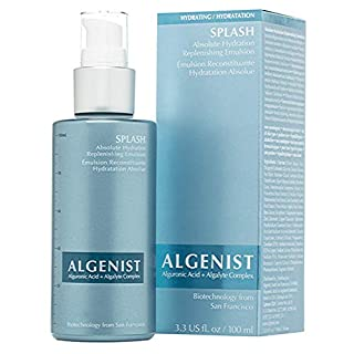 Algenist SPLASH Absolute Hydration Replenishing Emulsion - Water-Gel Moisturizer with Red Microalgae & Watermelon for Ultra Hydration & Supple, Plump Skin (100ml / 3.3 oz)