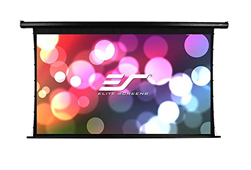 Elite Screens Spectrum Tab-Tension, 125-inch 16:9, 4K Tensioned Electric Motorized Projection Projector Screen, (Screen Ceiling Trim Kit)