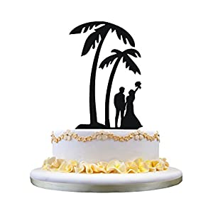 41WiS0GwafL._SS300_ Beach Wedding Cake Toppers & Nautical Cake Toppers