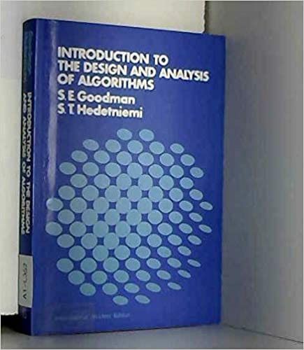Introduction To The Design And Analysis Of Algorithms McGraw Hill