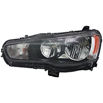 TYC 20-9258-00-9 Mitsubishi Lancer Left Replacement Head Lamp