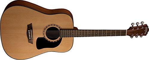Washburn Apprentice 5 Series Dreadnought Guitar W/Hardshell Case (16 Series Acoustic Guitar)