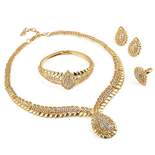 24K Gold Plated Jewelry Set...