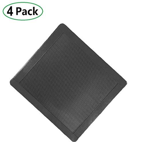 120mm Magnetic Frame Black PC Cooler Fan Dust Filter Dustproof Case Cover Computer Mesh Set of 4