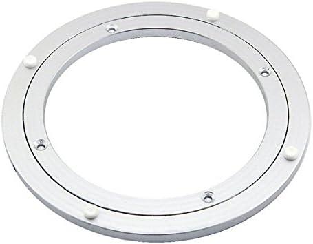 Queenwind の200mm の円形のダイニングテーブルの回転盤は怠惰であるスーザンアルミニウム軸受けを軸受け