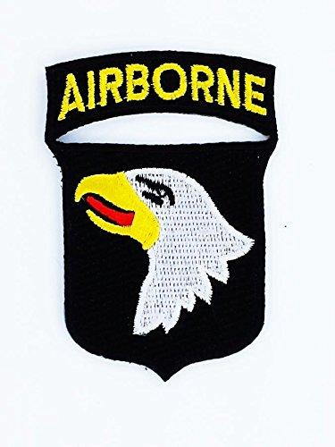 Patch Ecusson-bestickt abzeichen Airborne Airborne 101ST US Army Marines Militärische