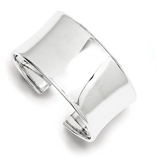 30 mm-Argent fin 925/1000-JewelryWeb Bracelet manchette