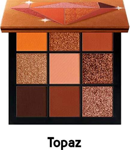 Cosmetics Ruby Emerald 9 Shades Color Eyeshadow Palette - Pr