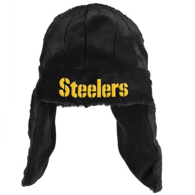 Forever Collectables NFL Retro Helmet Dangle Hat, Pittsburgh Steelers