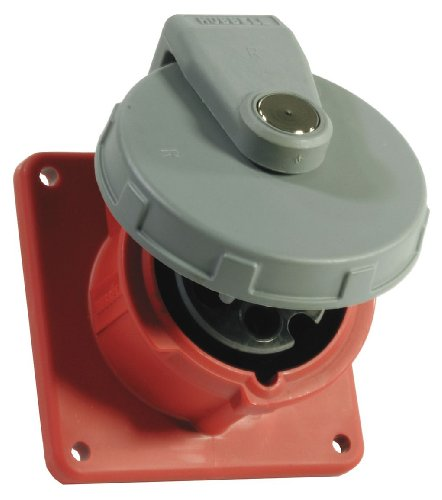 - Hubbell - HBL3100R7W - Pin&Sleeve Receptacle
