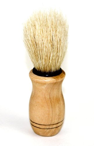 JUVITUS Shaving Brush - Boar Bristles & Wooden Handle