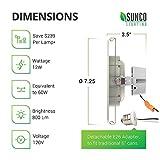 Sunco Lighting 4 Pack 5 Inch/6 Inch Gimbal LED