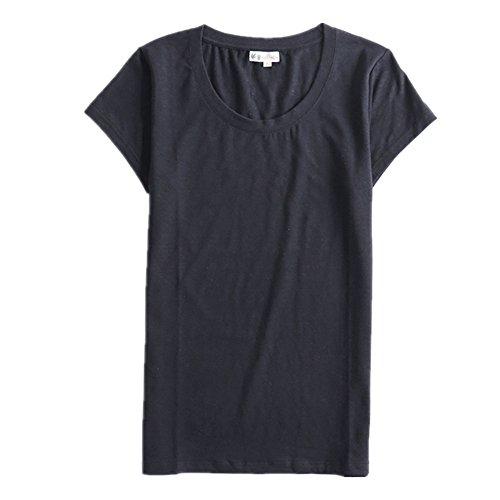 Maniche Donna shirt Hemp corte Black Show T qBTOTf