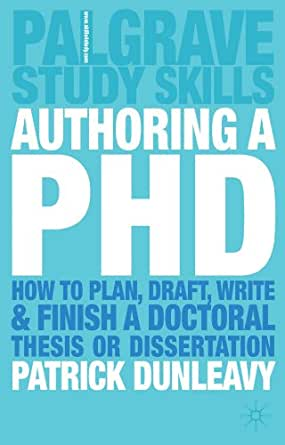 Dissertation planning writing