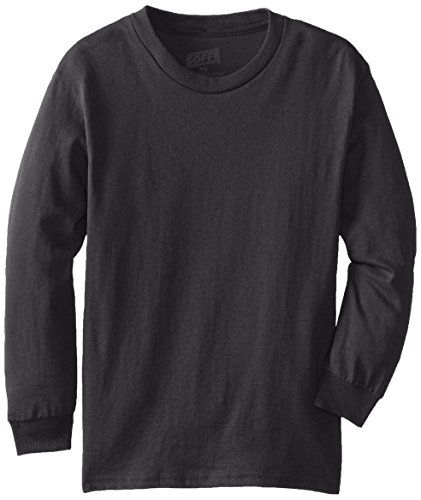 MJ Soffe Big Boys' Youth Pro Weight Long-Sleeve T-Shirt – DiZiSports Store