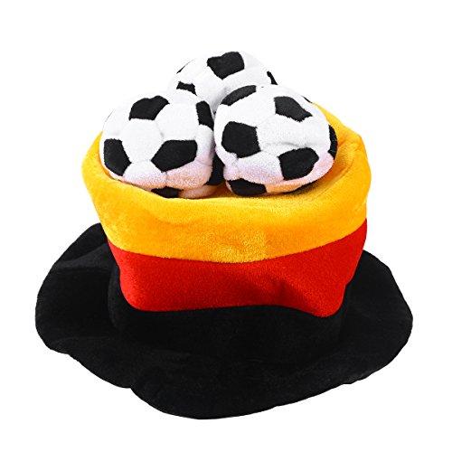 BESTOYARD Germany Flag Soccer Ball Party Hat Cap 2018 World Cup Football Fan Hat Cap