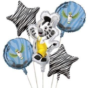 Zou Balloon Cluster (5) Party Supplies