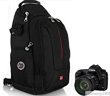 Amazon.com: BRAND NEW SWISS GEAR Sling Camera Case Shoulder Bag ...