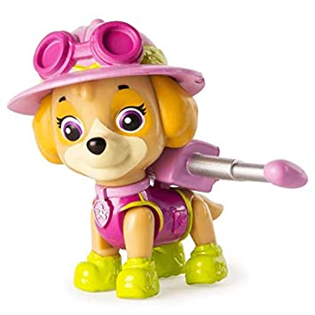 Paw Patrol Jungle Rescue Stella Figurine Articulée De