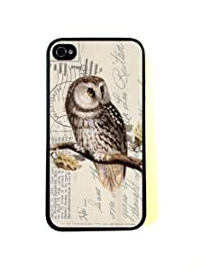 Mixed Media Owl iPhone 6 plus 5.5 Case - Fits iPhone 6 plus 5.5 and iPhone 6 plus 5.5