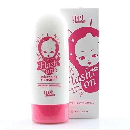 UPC 705363353267, YET Flash Skin on Whitening Cream 75g Quick Whitening & Brightening Korea Cosmetic