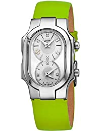 8dba661e488c9 Signature Swiss Made Womens Dual Time Zone Watch - Natural Frequency  Technology Analog Mother of Pearl