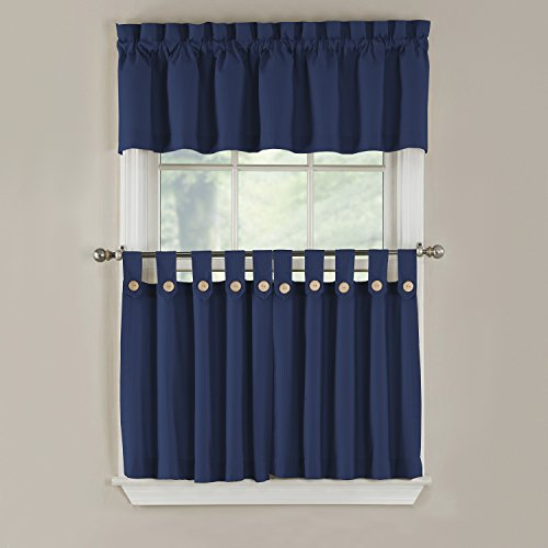 Gpd newport 60 inch x 12 inch rod pocket valance window for 18 x 60 window