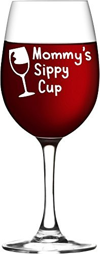 Mommy's Sippy Cup Wine Glass, New Mom Gift, Mother's Day Gifts Mother' s Day Gifts Mugsan