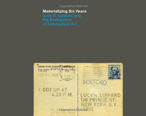 Six Years The Dematerialization of the Art Object from 1966 to 1972 A Cross-R