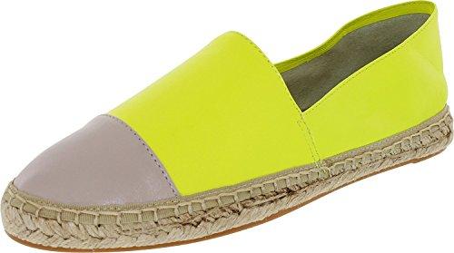 Rebecca Minkoff Women's Gavin Chartreuse/Elephant Ankle-High Leather Flat Shoe - 9M