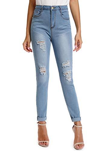 CROSS1946 Women's Totally Shaping Pull-on Skinny Jeans Modern Skinny Jeans Blue