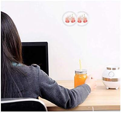 WXYLYF Smart Home Mini-mélangeur Mural cassé Multi-Fonction Juicer Broyage Lait de soja Machine Alimentaire Machine complément Alimentaire pour bébé, pour Desserts congelés.