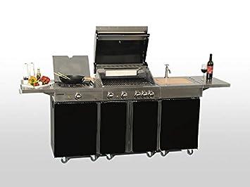 Outdoorküche Mit Gasgrill Qualität : Dassbach küchen bochum küche kaufen restposten weber gasgrill