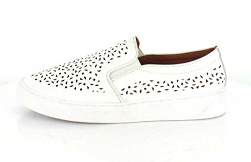 Vionic Women's Midi Perf Slip-On Sneaker White Perfed Leather best sale cheap online Jvq5mKQW