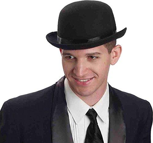 Morris Costumes Men's DERBY BLACK DELUXE, One size