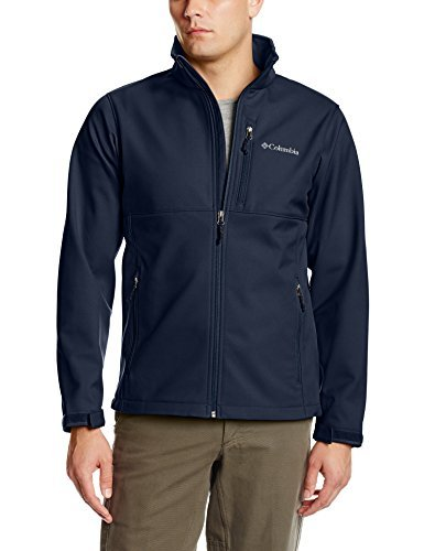 Price comparison product image Columbia Men's Ascender Softshell Front-Zip Jacket, Collegiate Navy, 3XL
