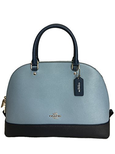 6f1724094658 COACH SIERRA SATCHEL IN GEOMETRIC COLORBLOCK CROSSGRAIN LEATHER F57502   Handbags  Amazon.com