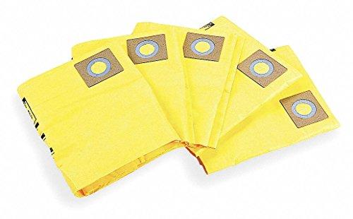 Dayton 2-Ply Filter Bag, 5PK - 3UP66