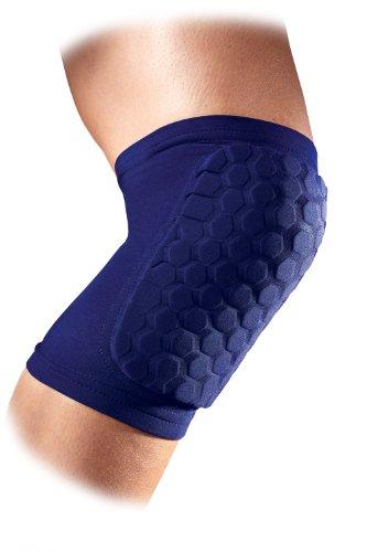 McDavid Sports Medicine 6440 Hex Knee/Elbow/Shin Pad, Small, Navy (Mcdavid Protective Knee Guard)