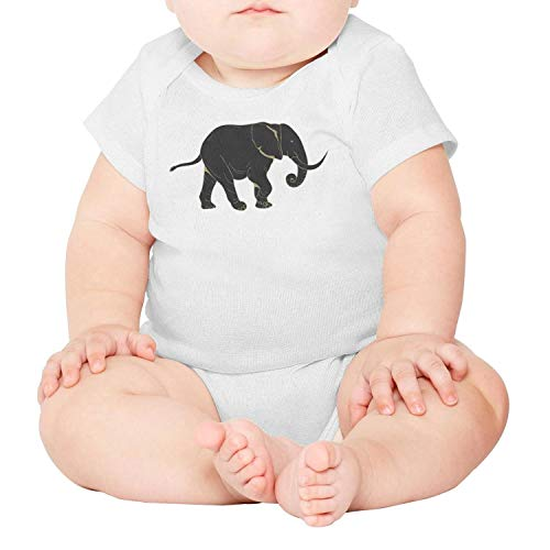 Artisfive African Elephant Silhouette Unisex Baby Onesies Infant Bodysuit (New Jersey School Of Medicine And Dentistry)