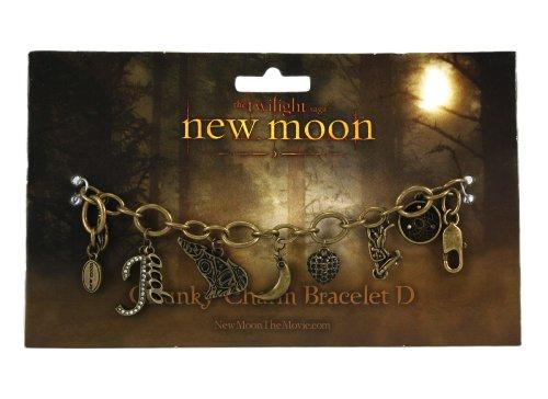 Twilight New Moon Bracelet - Chunky Charm D (Jacob)