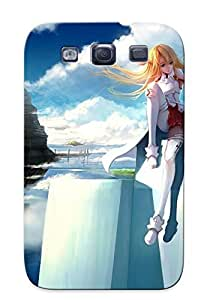 Chistmas' Gift - Cute Appearance Cover/tpu ScRBJHz1856sDTwV Asuna And Kirito - Sword Art Online Case For Galaxy S3