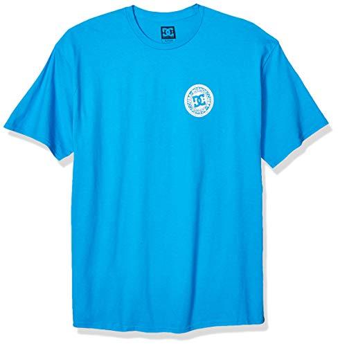 DC Men's Circle Star FB Short Sleeve, Brilliant Blue, M